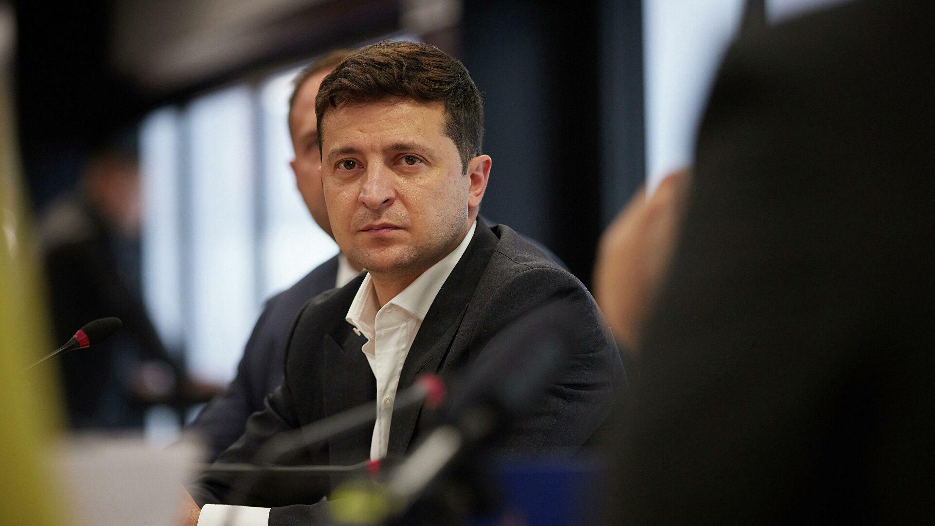 Зеленский предложил создать на Украине национальное сопротивление