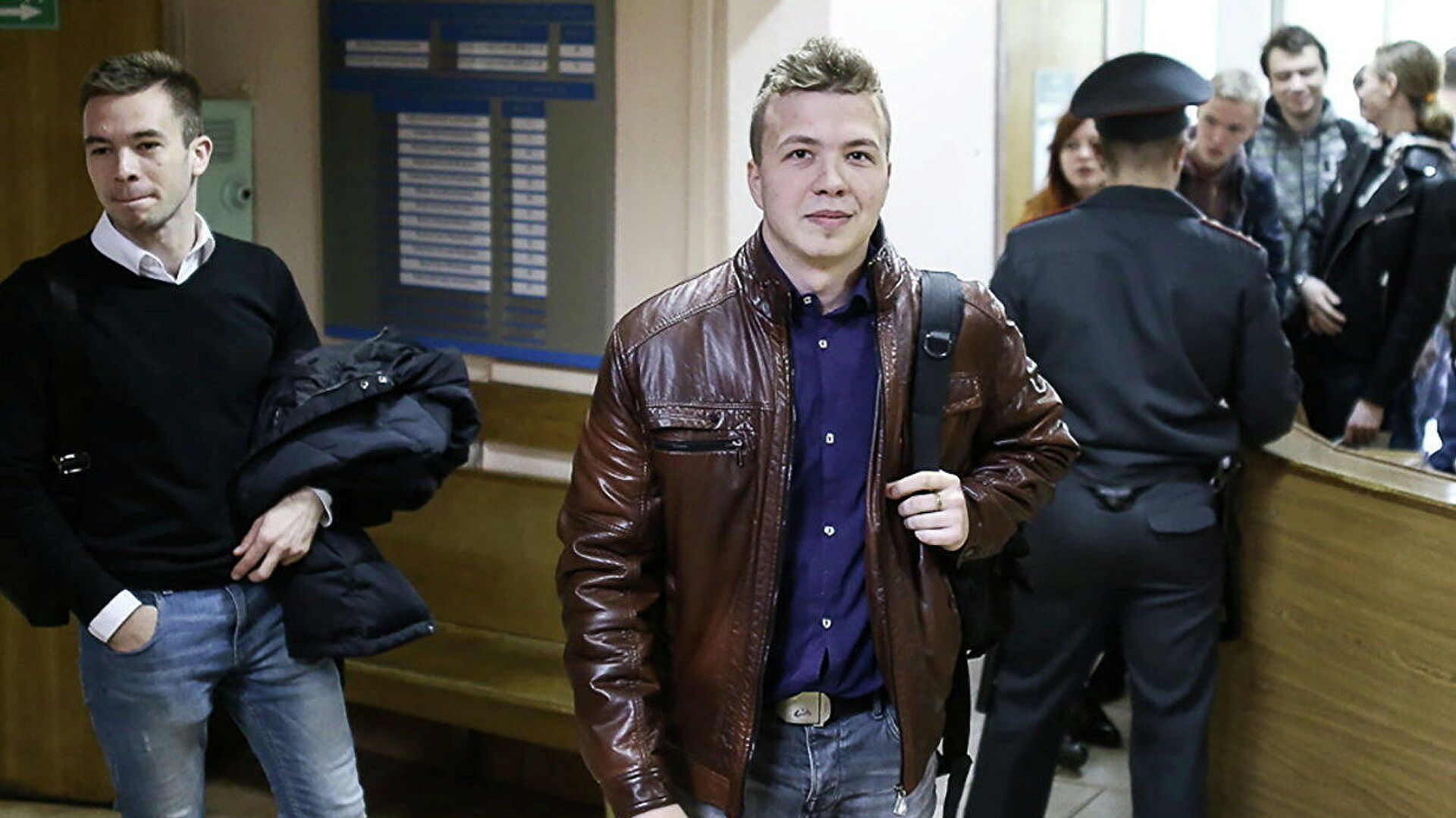 Адвокат заявила, что ее не пустили к Протасевичу