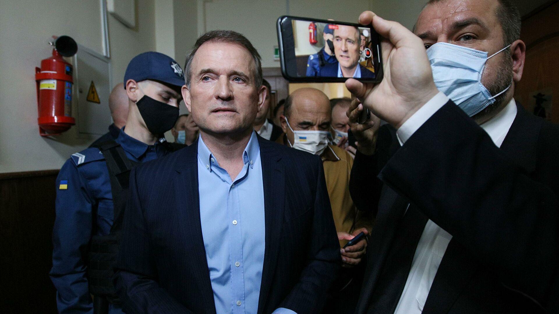 Медведчук назвал дело против него провальным