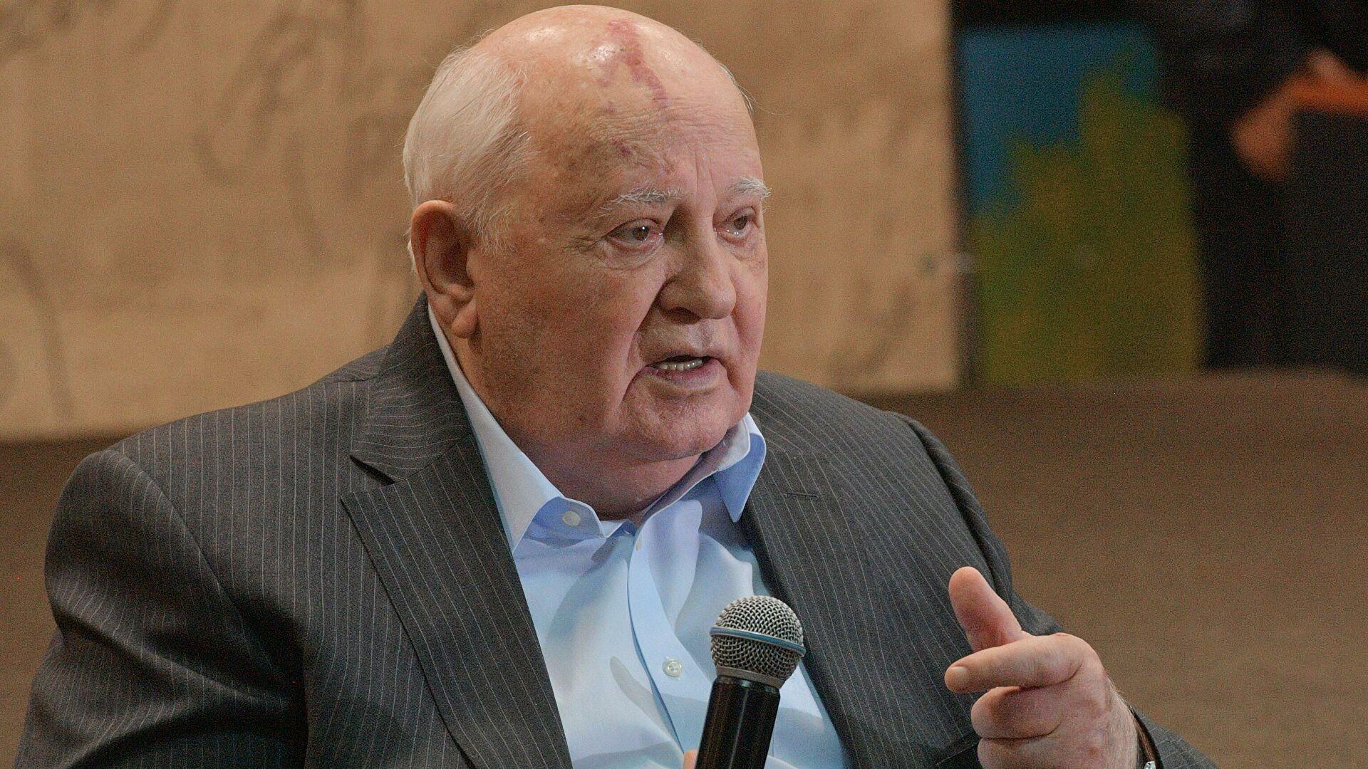 Горбачев оценил договоренность о встрече Путина и Байдена