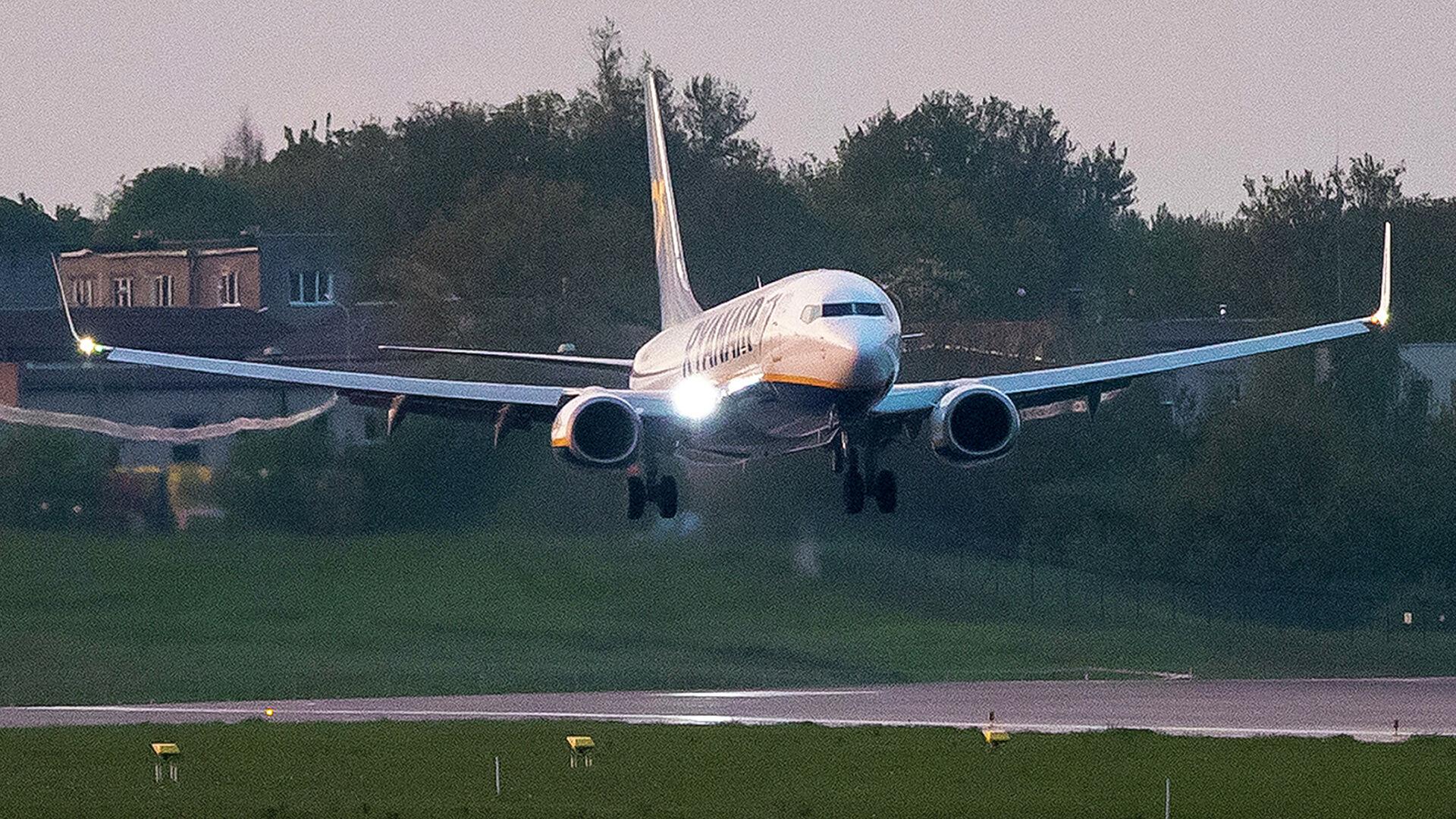 ICAO возглавит расследование инцидента с самолетом Ryanair в Минске
