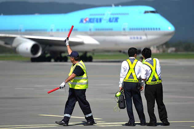 Korean Air подготовила маршруты для облета пространства Белоруссии