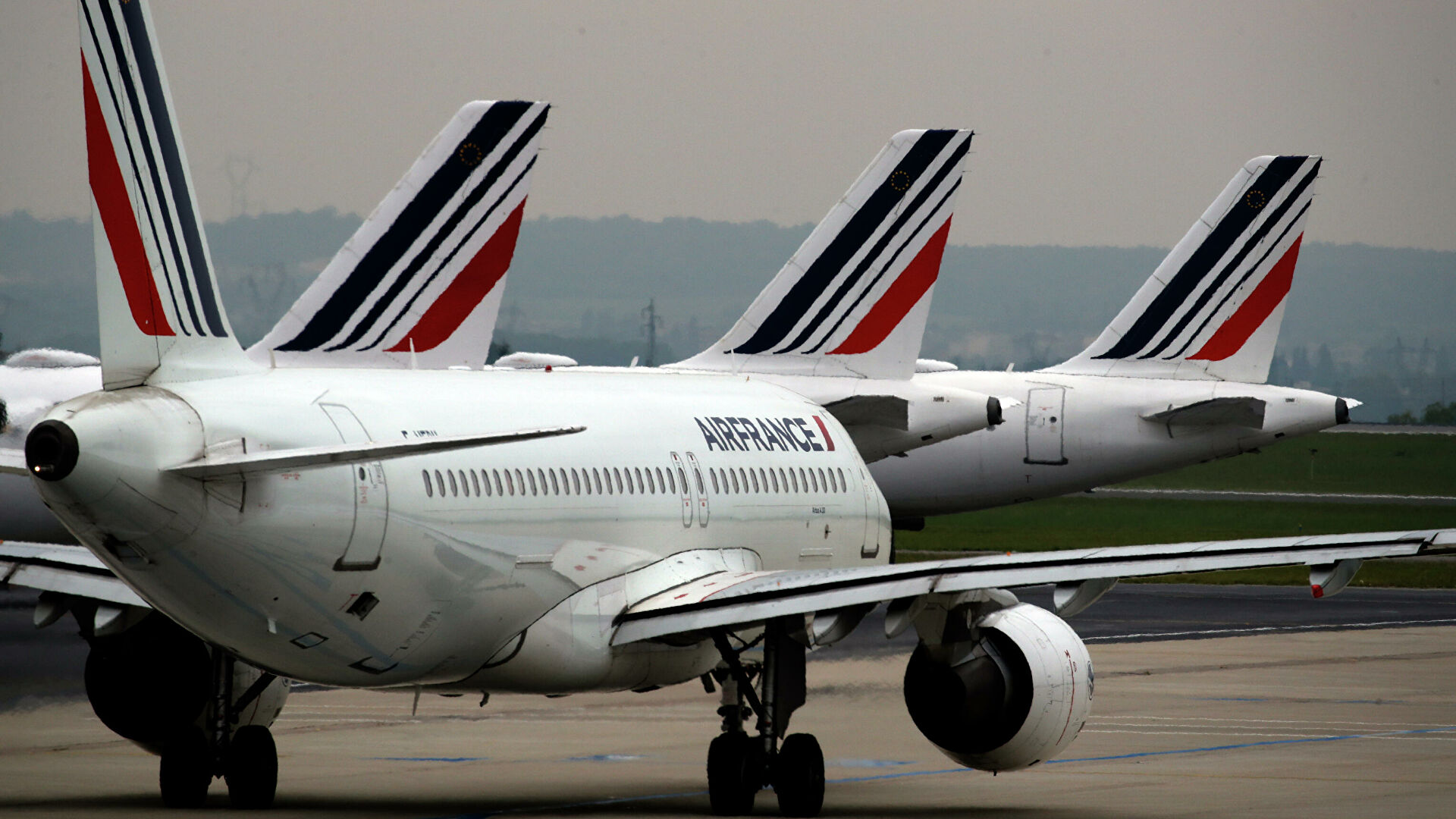 AirFrance отменила рейс из Парижа в Москву