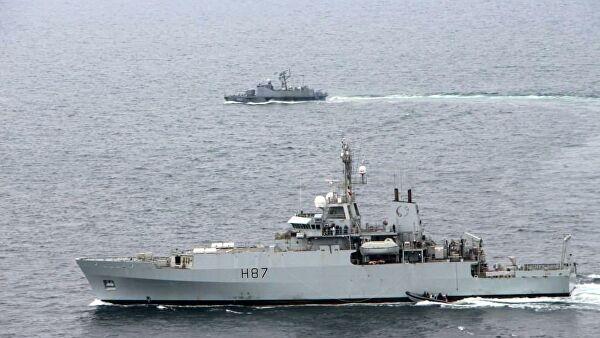 Украина и Великобритания провели тренировки в Черном море