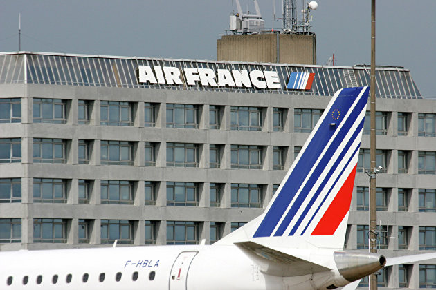 Air France перенесла рейс в Москву из-за ситуации с Белоруссией