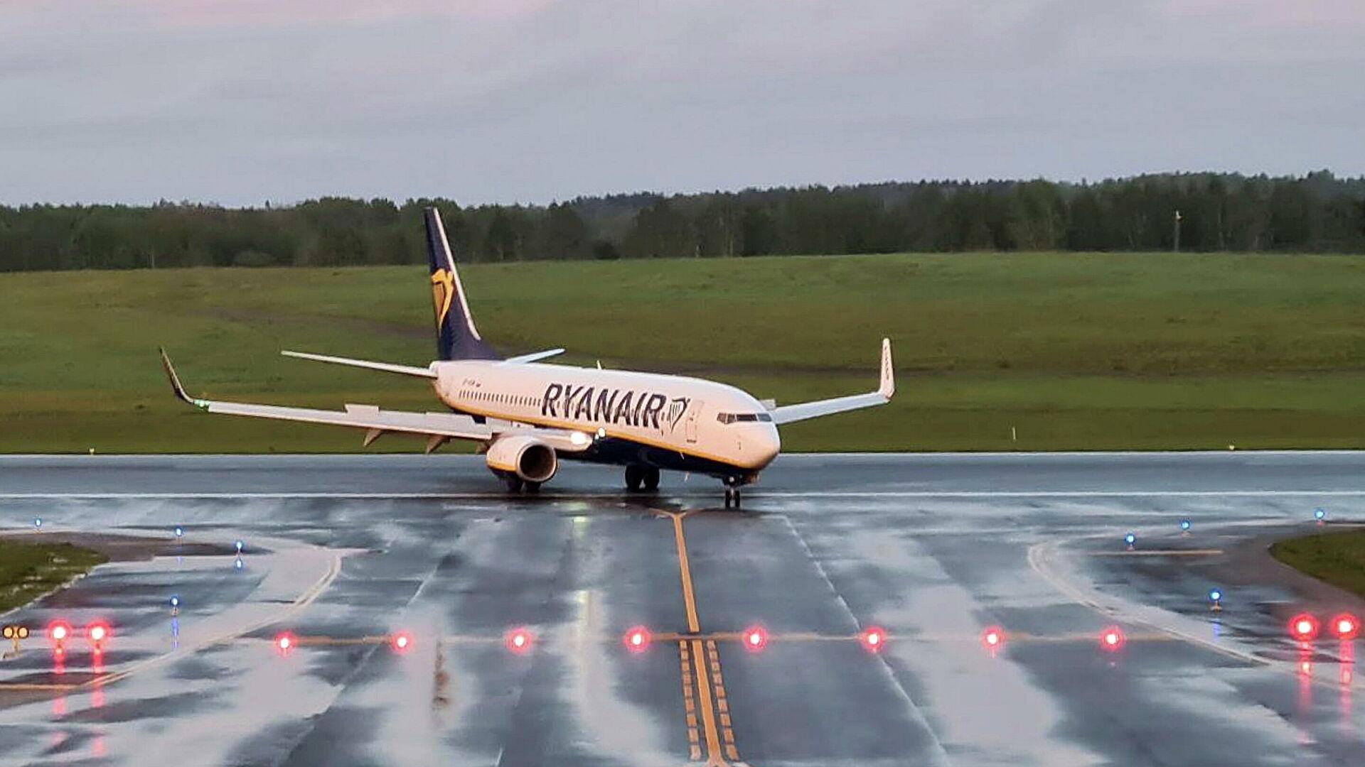 В Греции прокомментировали сообщения об угрозе самолету Ryanair