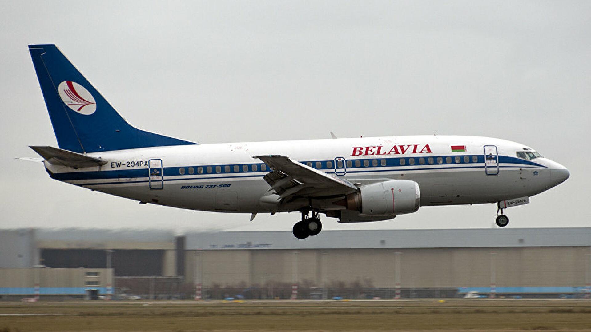 Словакия закрыла воздушное пространство для белорусских самолетов