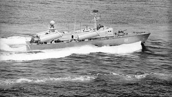 Советский катер в Красном море: у врага не было шансов