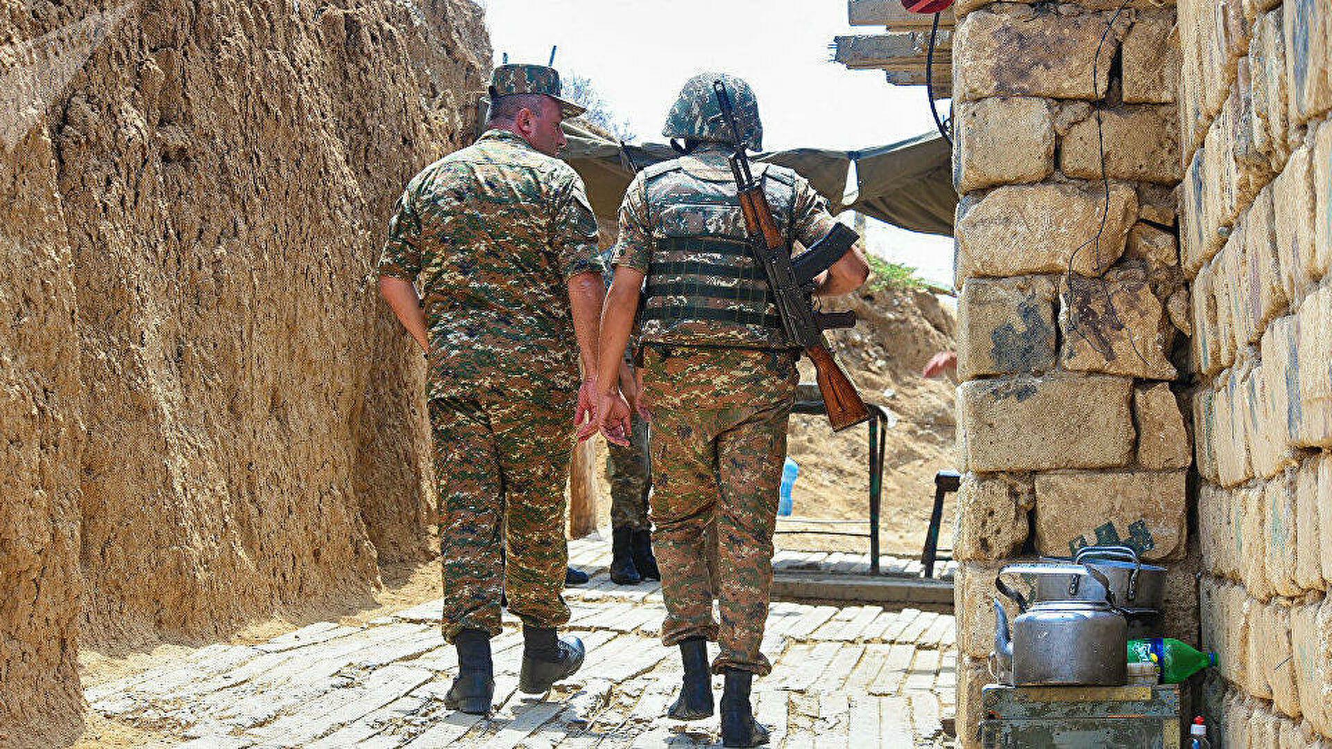 Ереван подтвердил задержание военных на границе с Азербайджаном