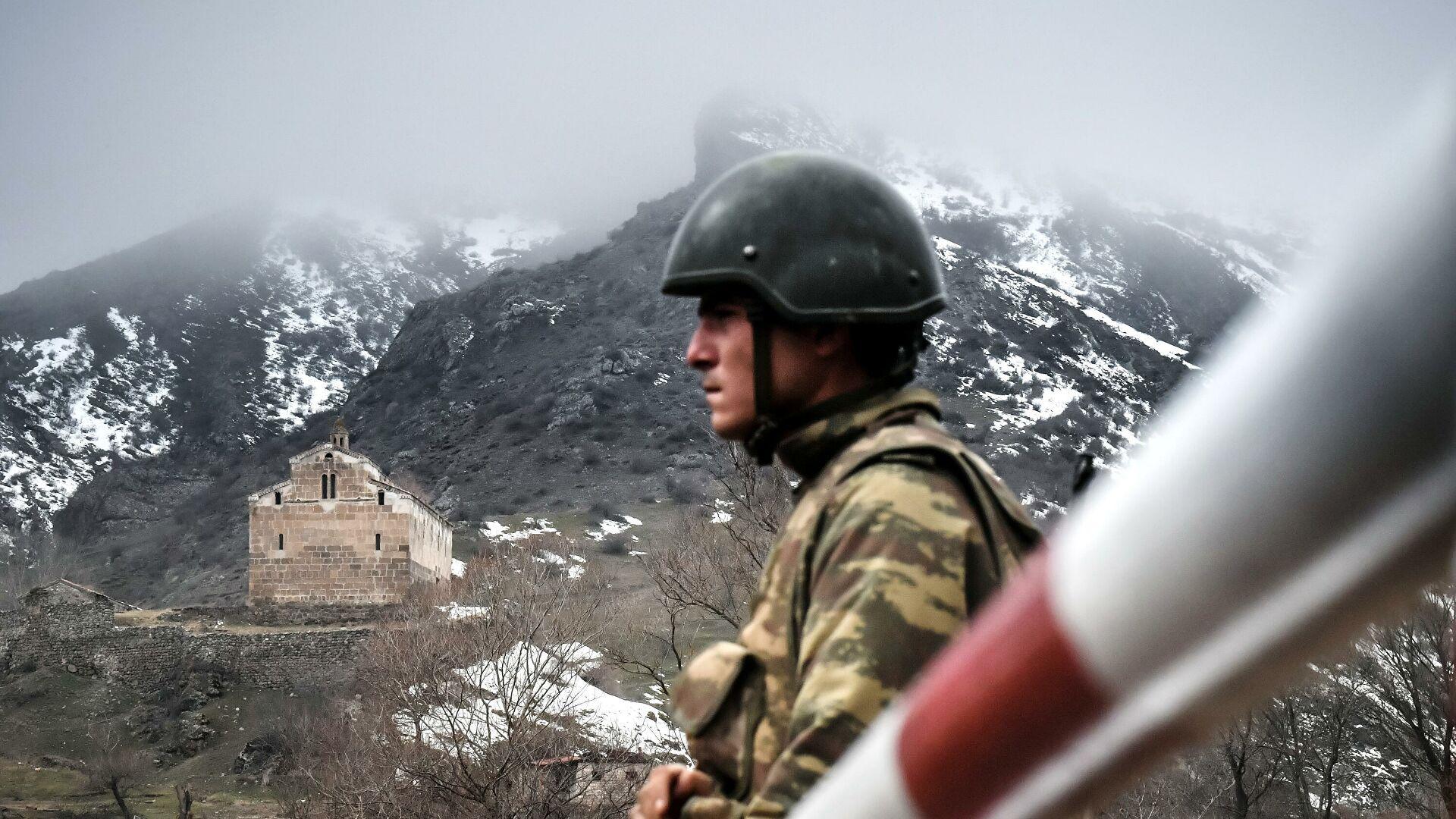 В МИД Азербайджана прокомментировали инцидент на границе с Арменией