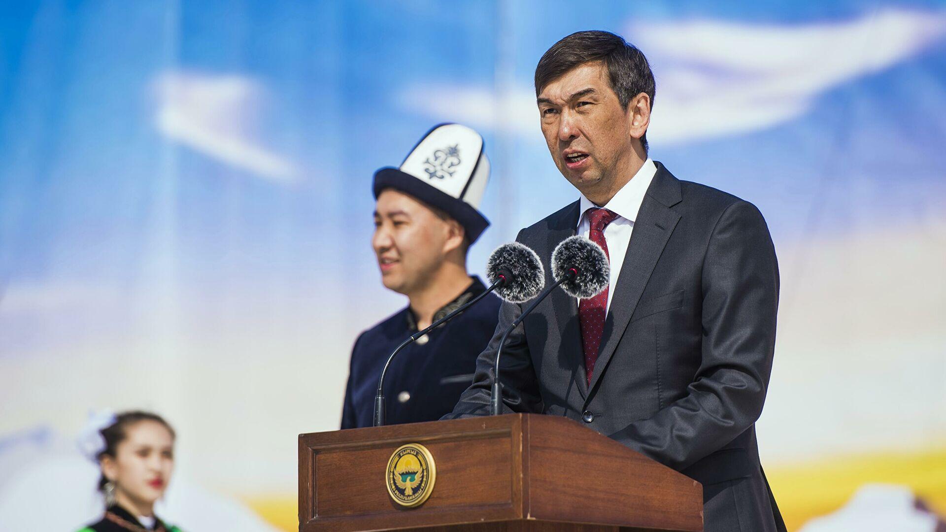 Экс-мэра Бишкека задержали по подозрению в коррупции