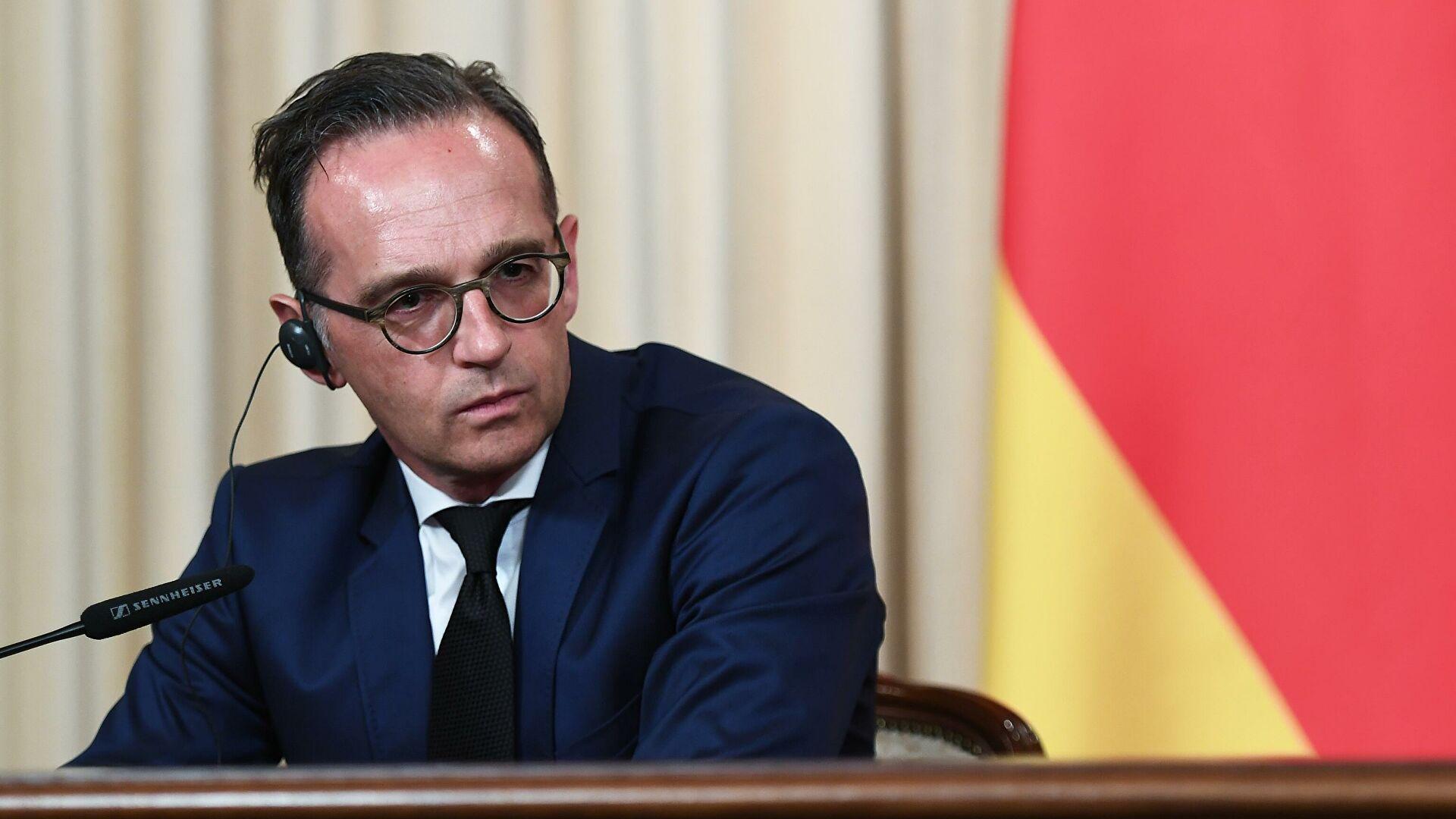 Глава МИД Германии рассказал о санкциях против Белоруссии