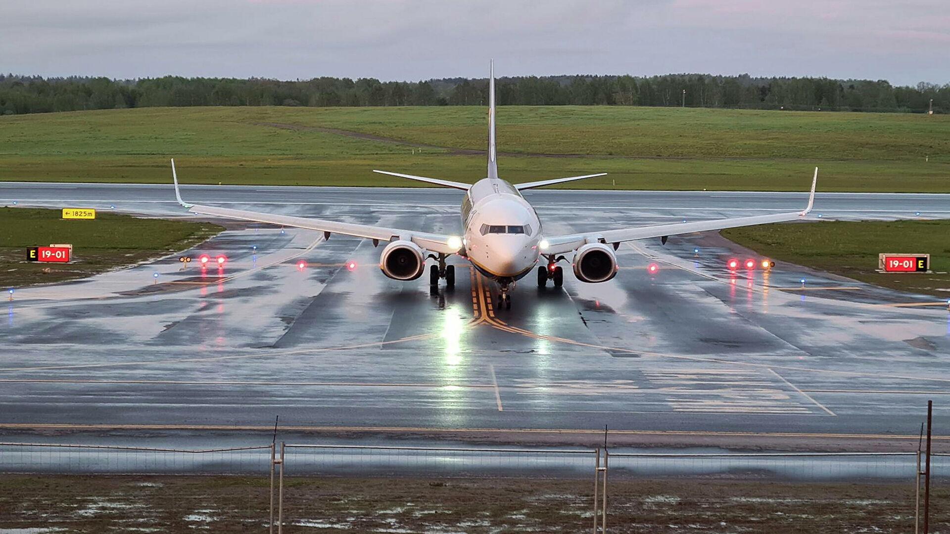 СМИ: угрозы в аэропорт Минска пришли после команды пилотам Ryanair
