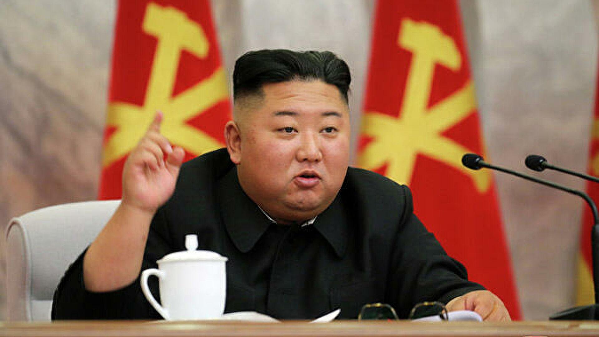 Ким Чен Ын назвал ситуацию в КНДР