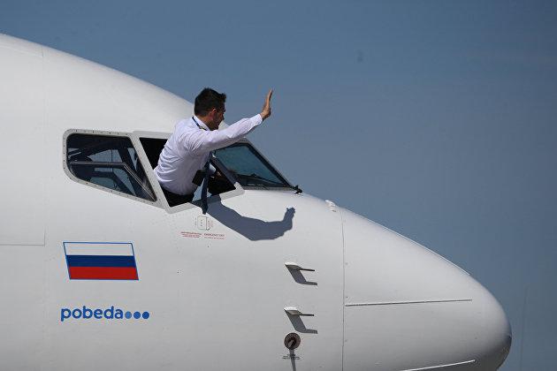 Пассажиропоток российских авиакомпаний в апреле вырос почти в 10 раз