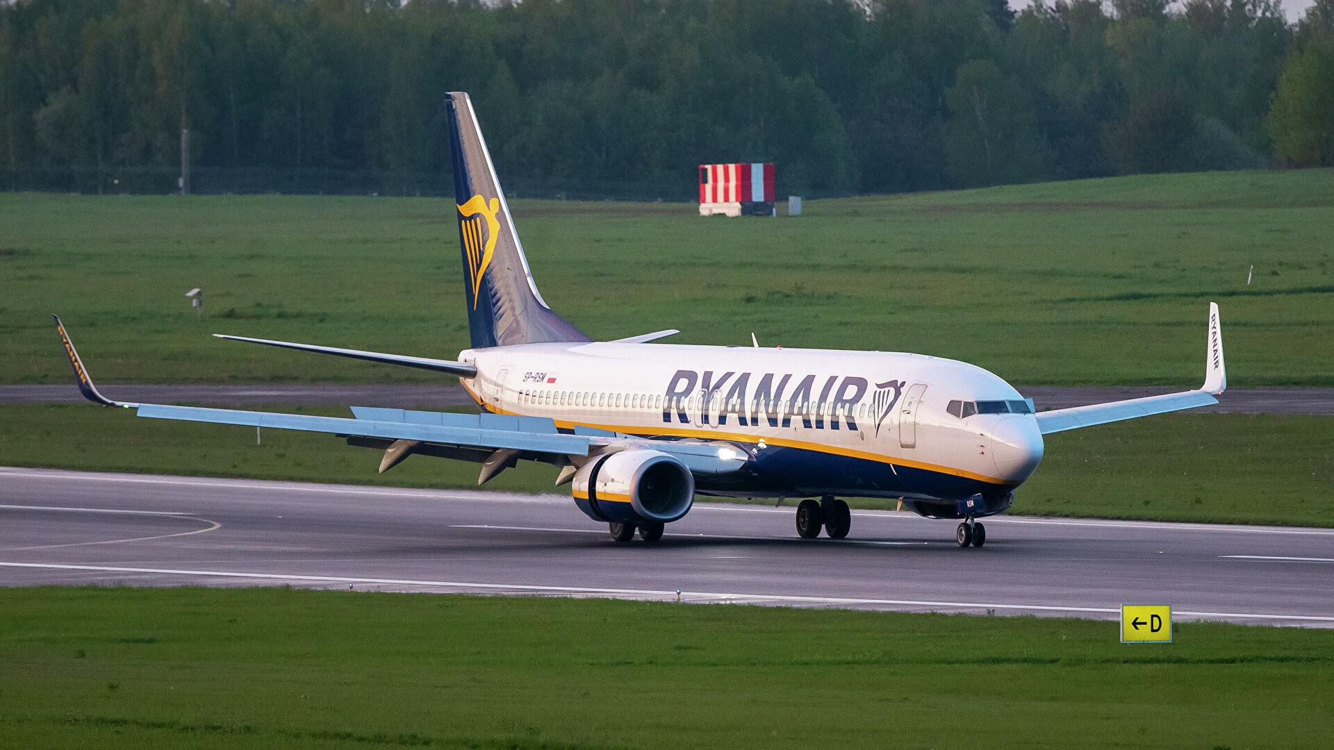 Провайдер рассказал, когда отправили письмо о бомбе на борту Ryanair