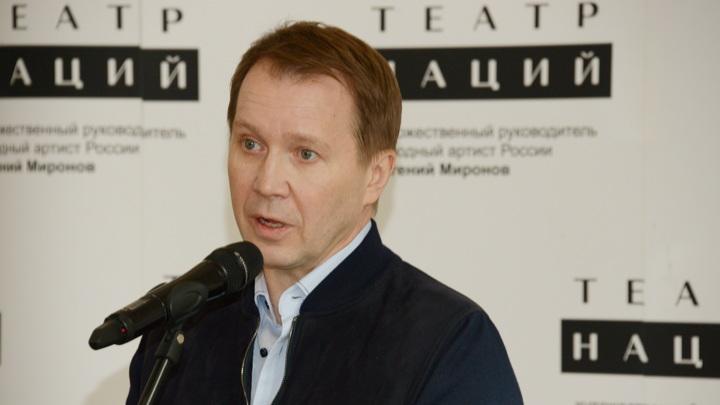 Евгений Миронов показал подросшего сына, окончившего первый класс