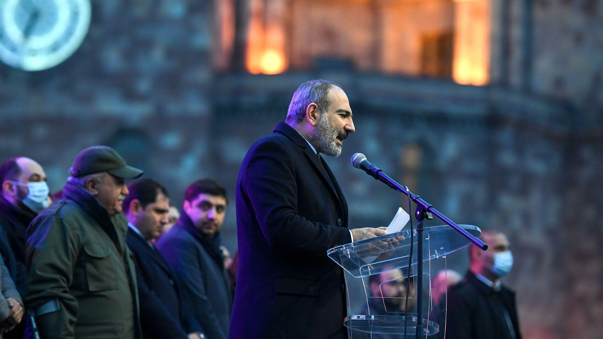 Пашинян анонсировал план решения ситуации на границе с Азербайджаном
