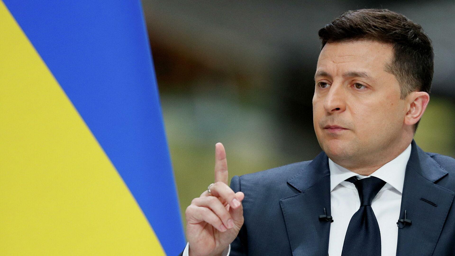 Зеленский обсудил с главой Еврокомиссии ситуацию в Донбассе