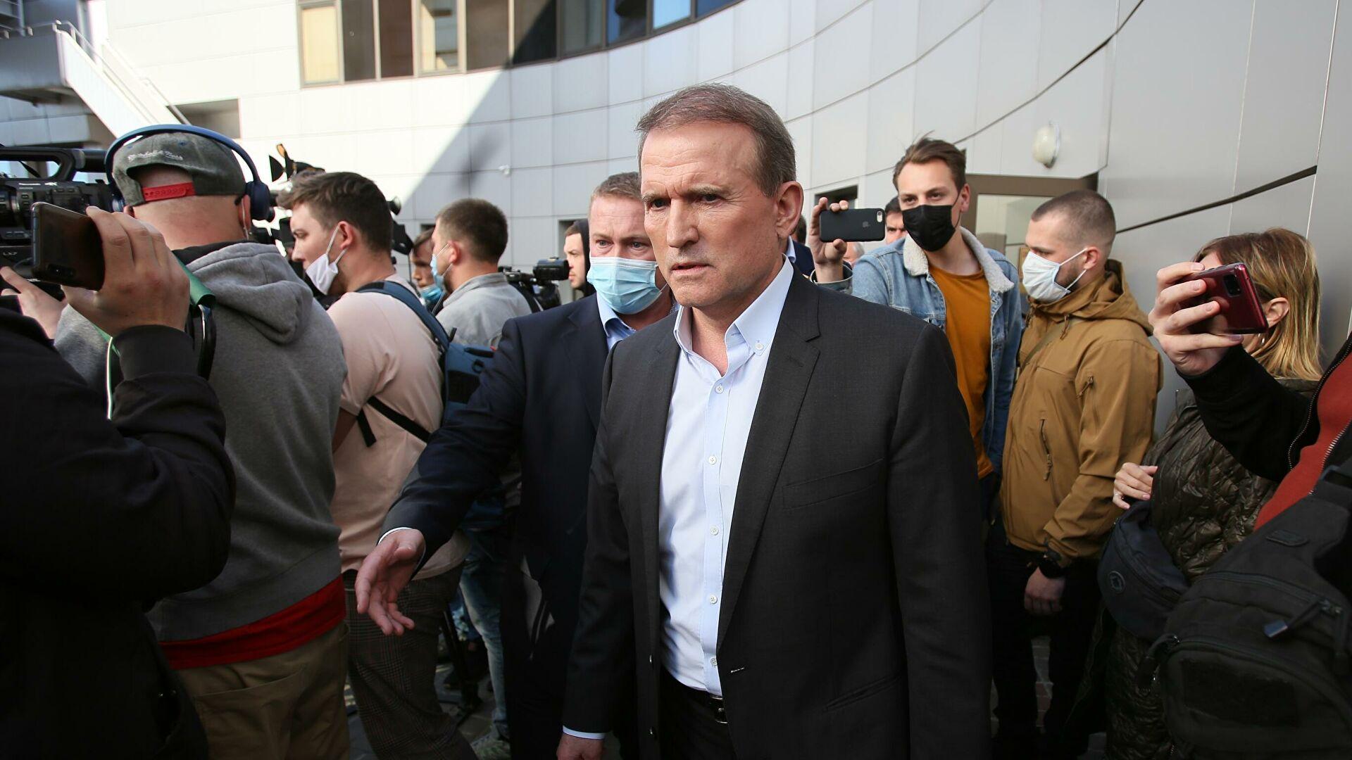 На Украине отвергли обвинения в политизированности дела Медведчука