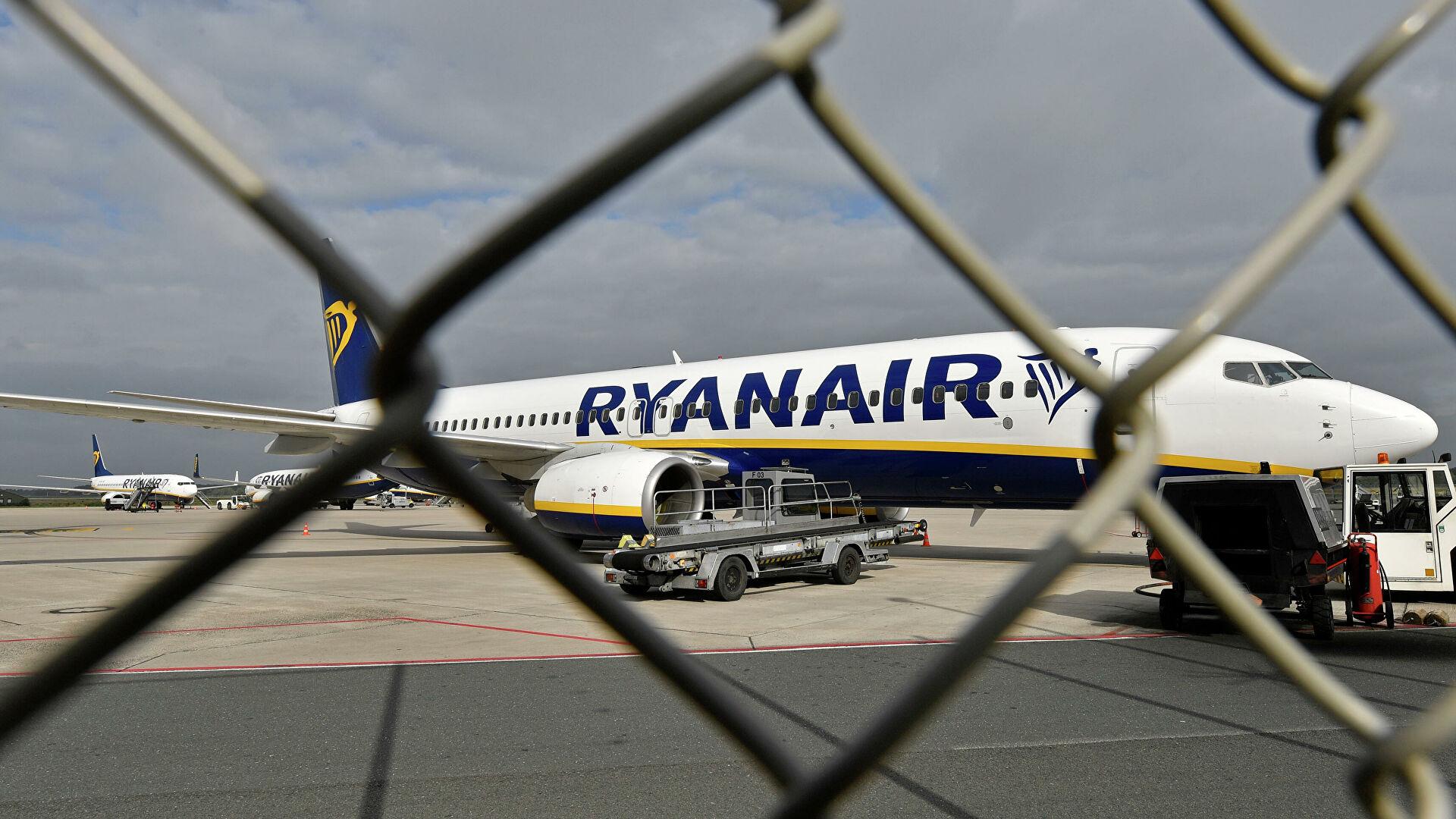 В Ирландии заявили о начале расследования ИКАО инцидента с Ryanair