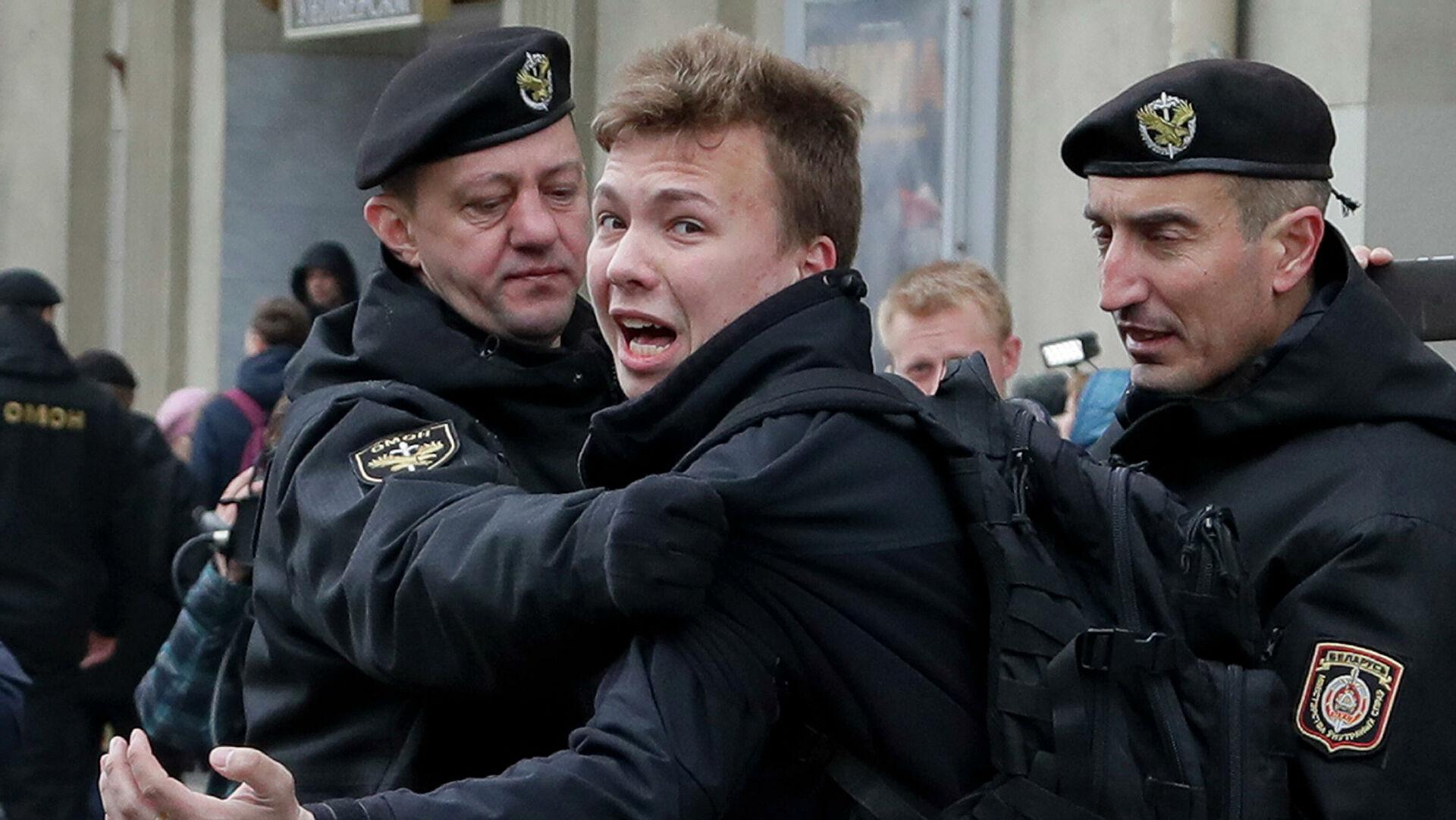 Адвокат сообщила, что встретилась с Протасевичом