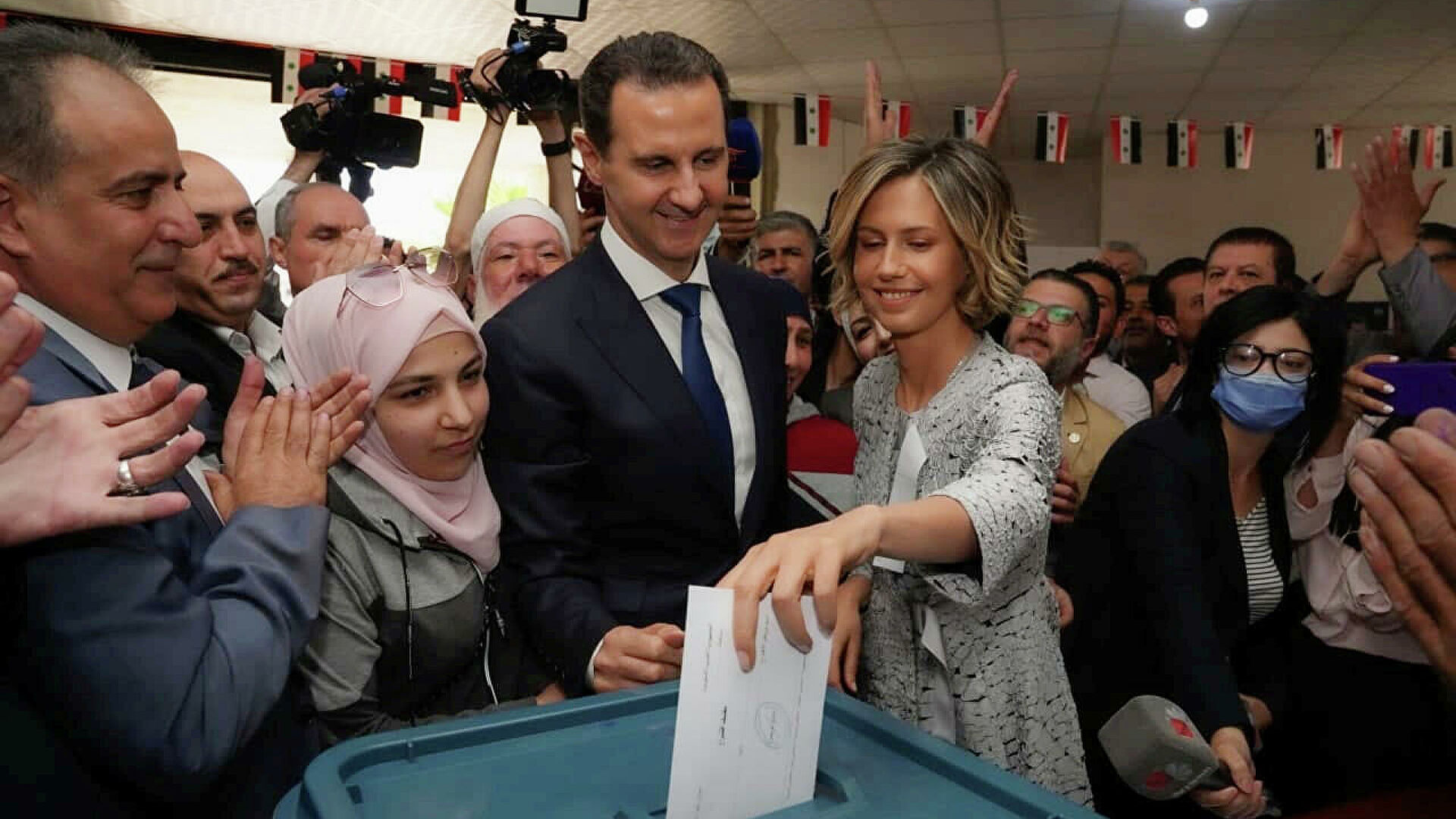 Башар Асад одержал победу на президентских выборах в Сирии