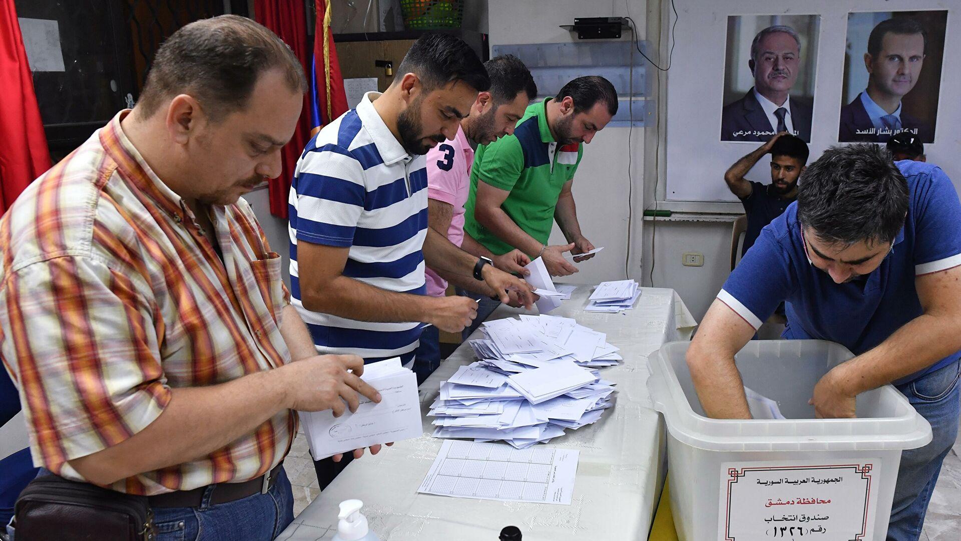 Российские наблюдатели оценили обстановку на выборах в Сирии