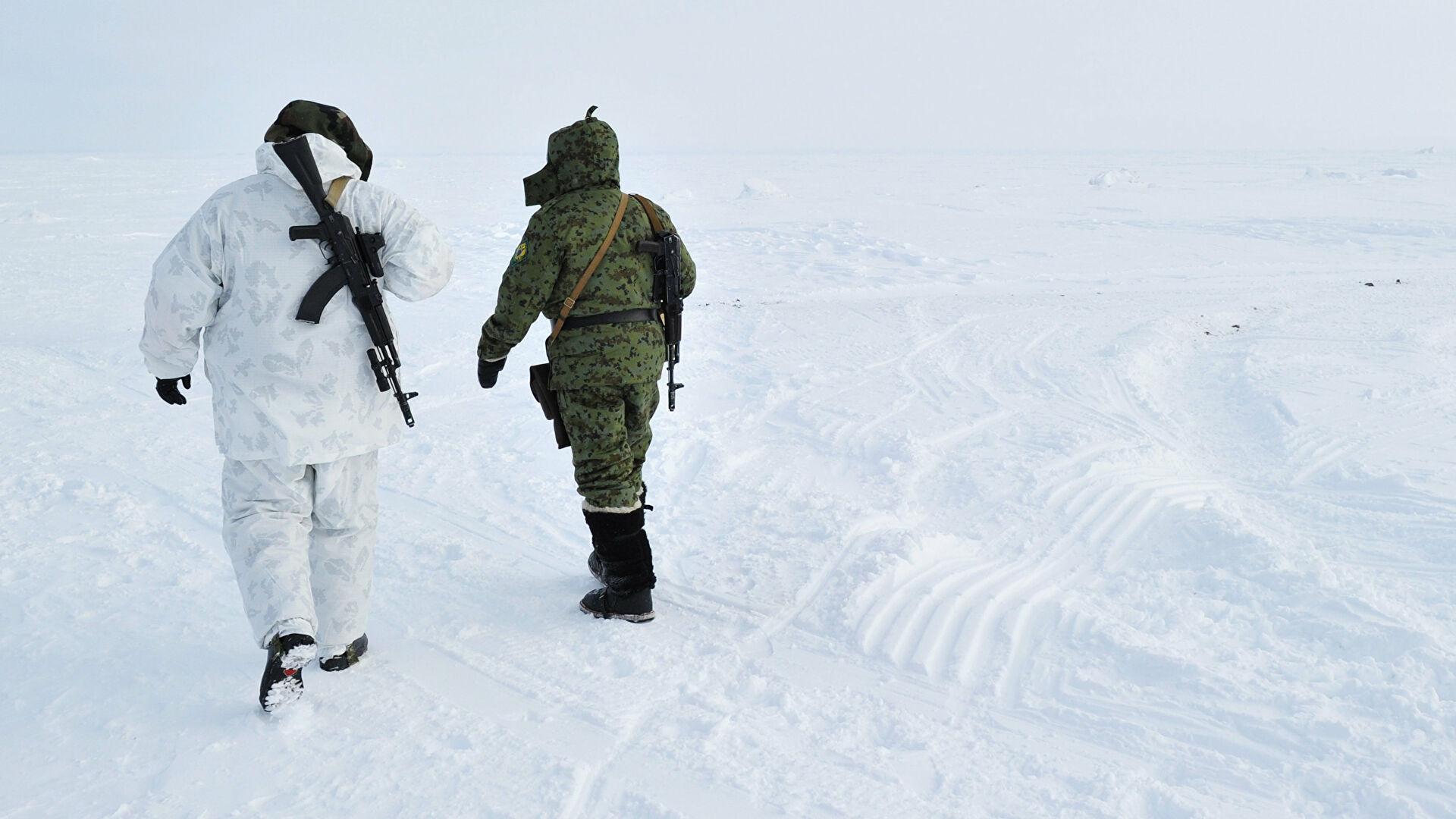 Российские пограничники повысили интенсивность службы в Арктике