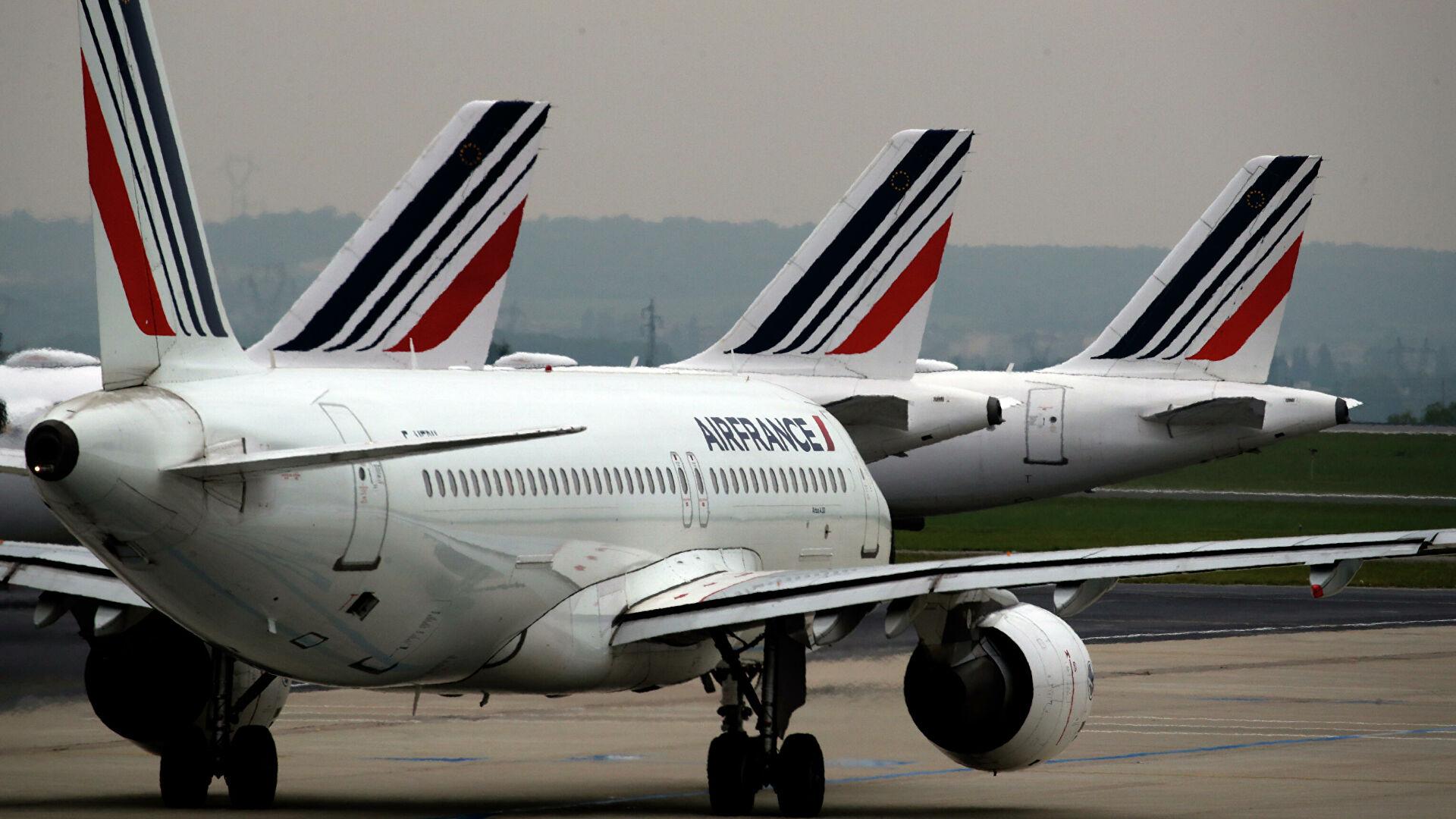 В Air France прокомментировали отмену рейсов в Москву