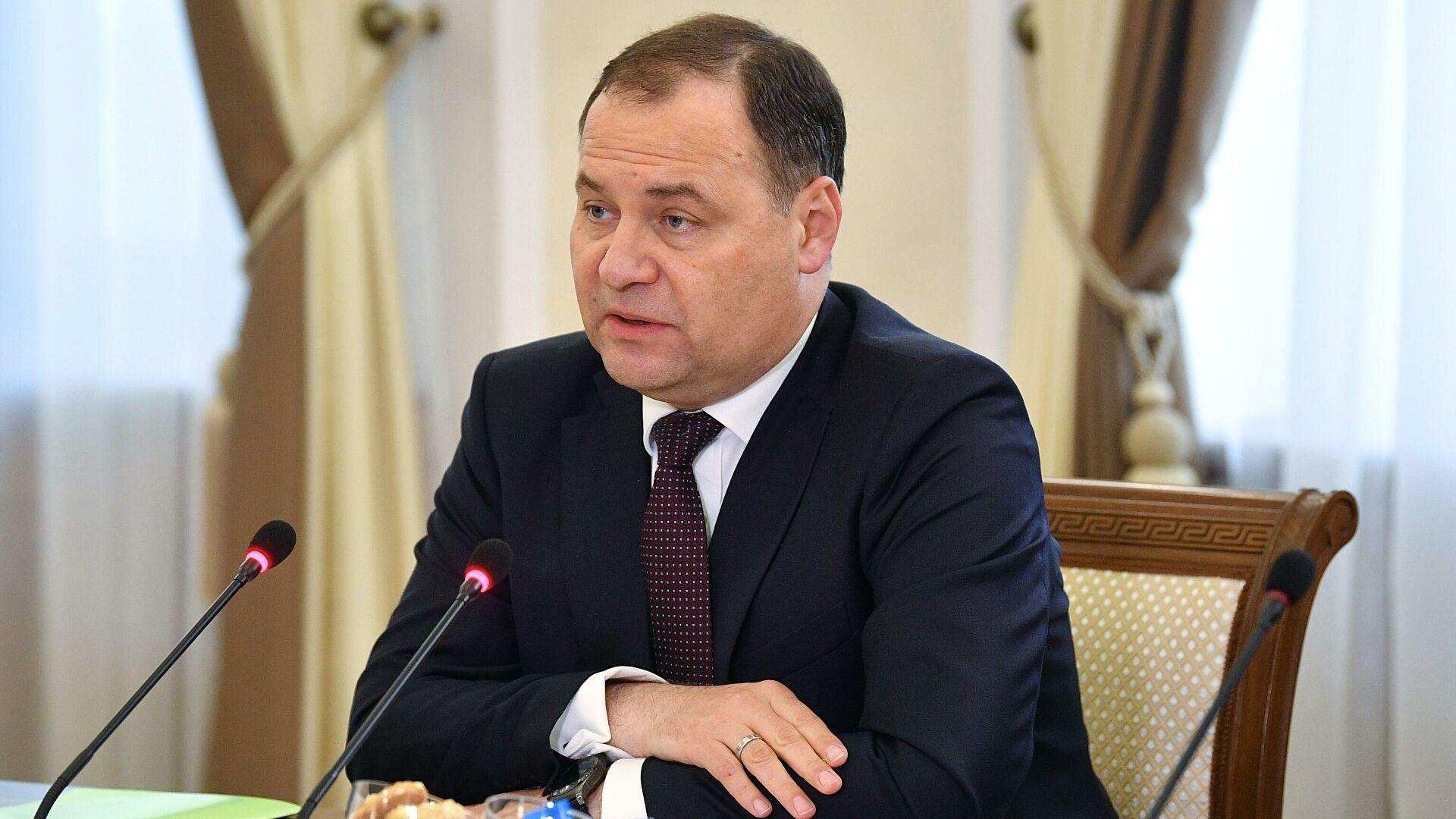 Премьер Белоруссии заявил о беспрецедентном давлении Запада