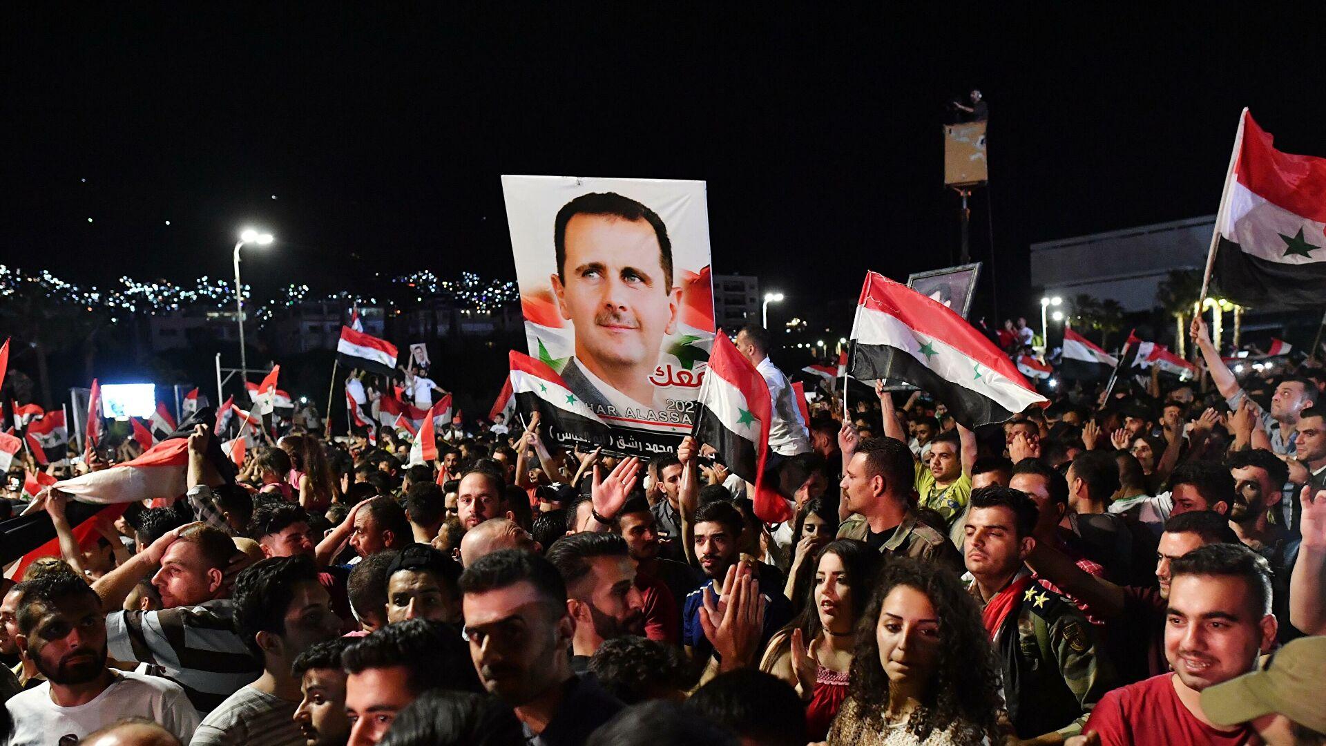 Путин поздравит Асада с победой в президентских выборах
