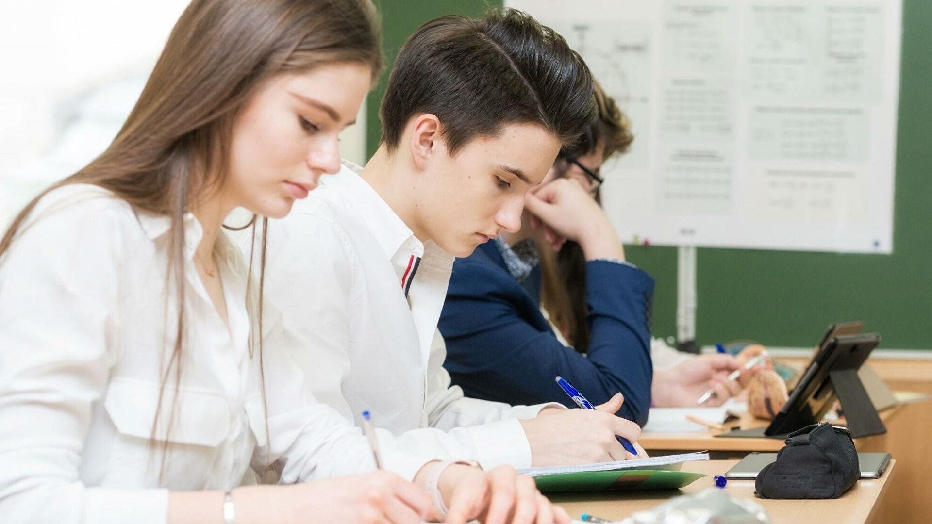 Московские школьники взяли половину дипломой победителей на ВОШ