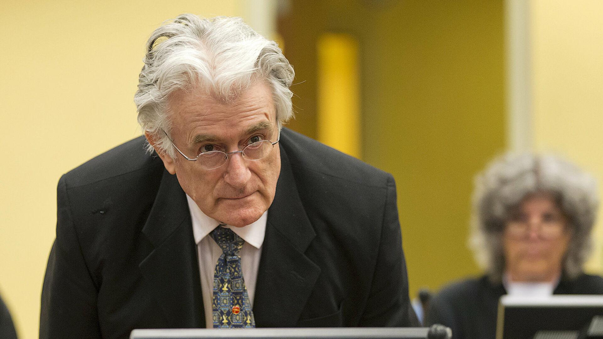 Осужденный за геноцид Караджич переведен в тюрьму на юге Британии