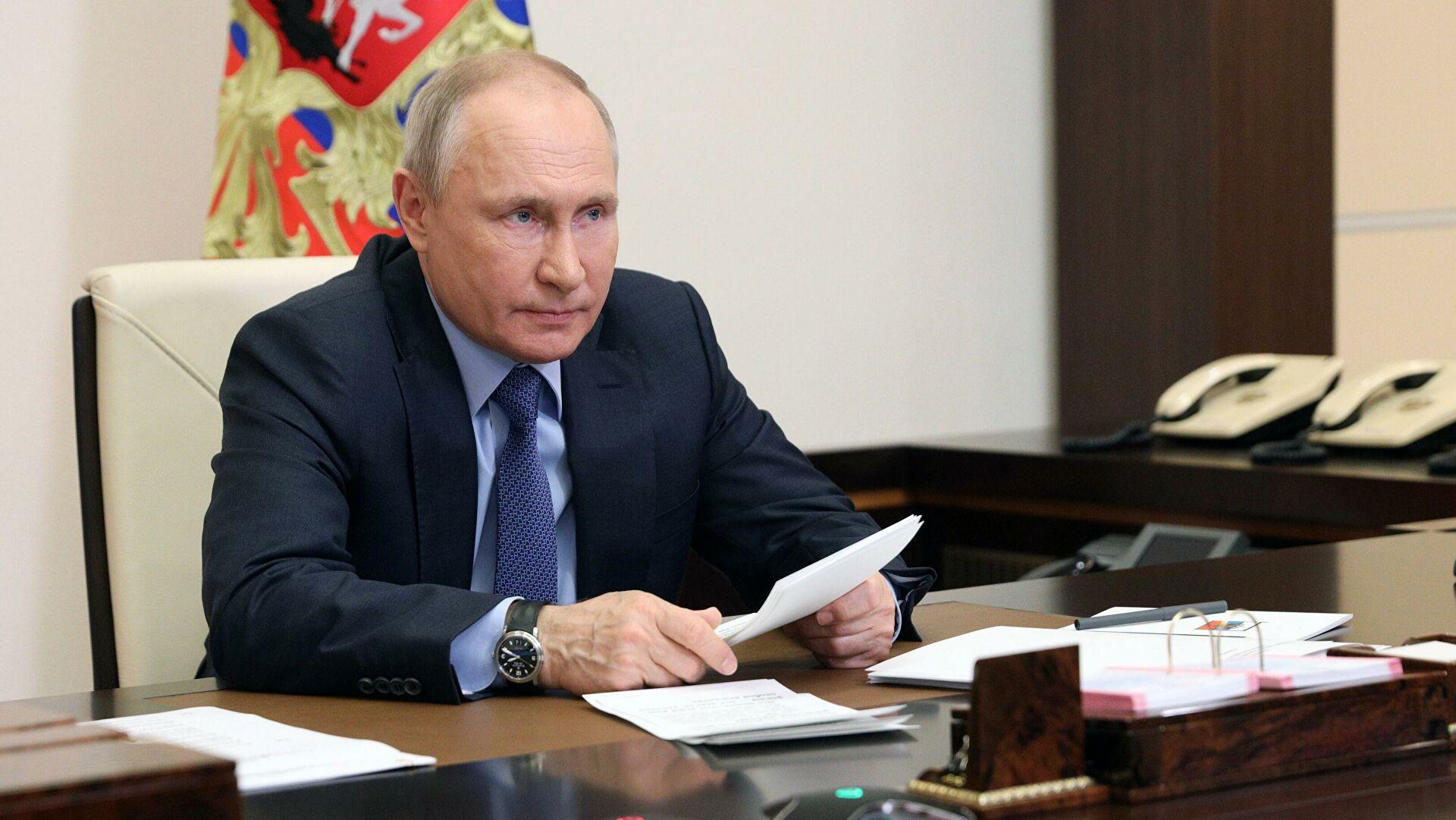 Путин предложил членам Совбеза обсудить стратегию нацбезопасности