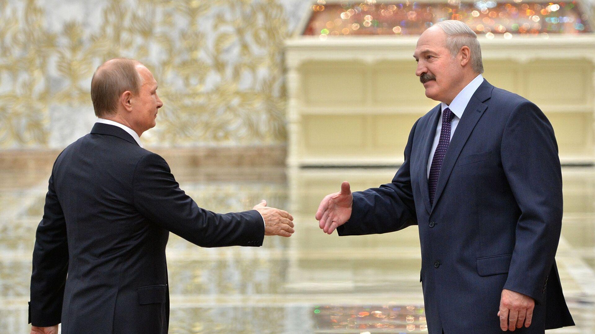 Переговоры Путина и Лукашенко идут больше трех часов
