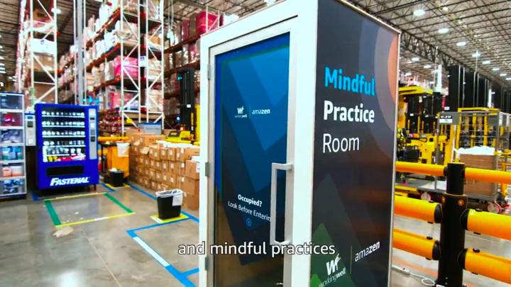 Amazon установила на складах