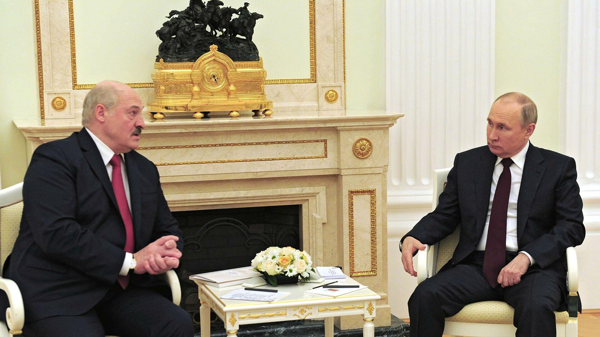 В Киеве испугались сближения России с Белоруссией