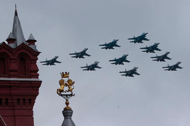 Российские и белорусские истребители заступили на совместное дежурство