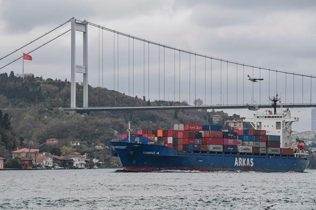 Столкновение Российского и Турецкого сухогрузов. А все ли тут чисто?