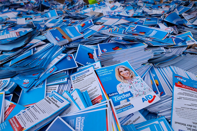 Партия Меркель проиграла выборы в Германии